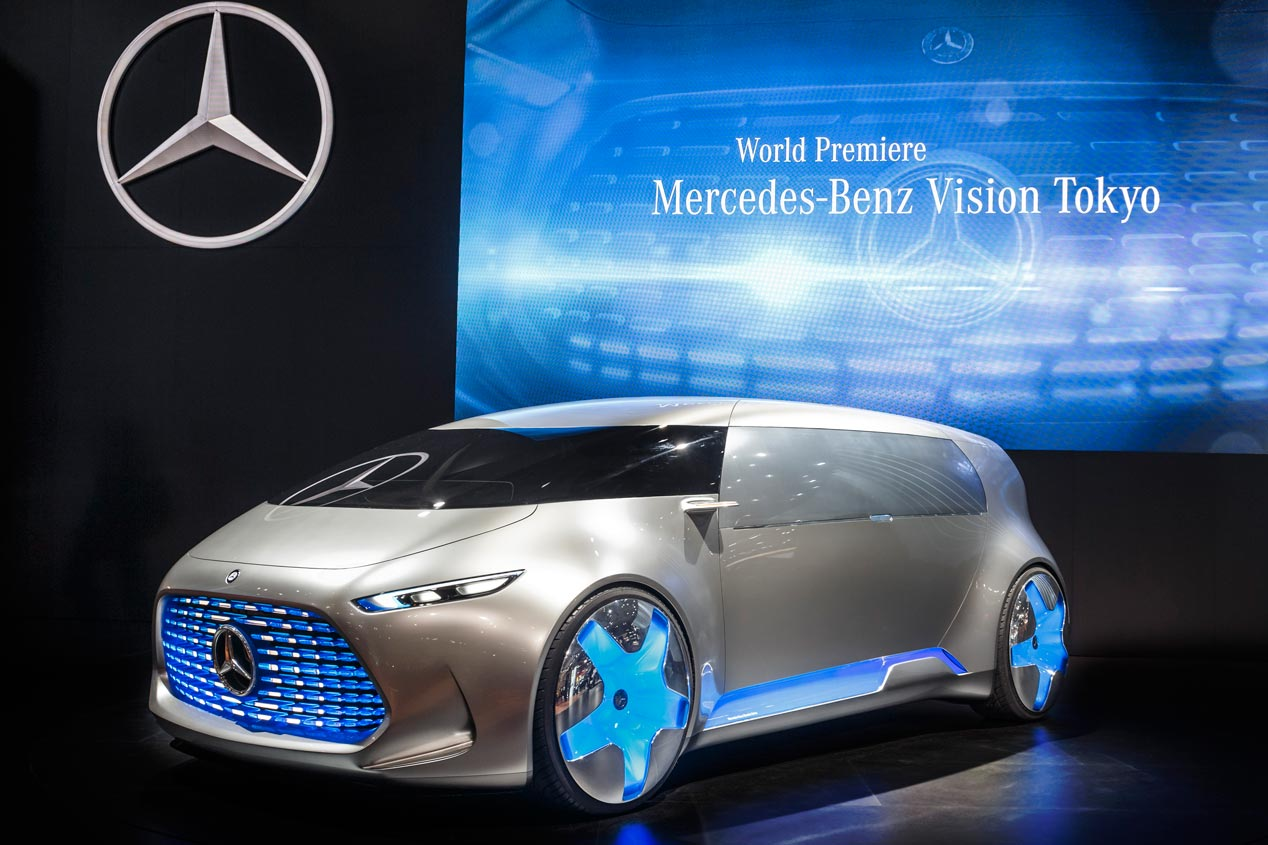 Mercedes Vision Tokyo Concept, el futuro del coche conectado