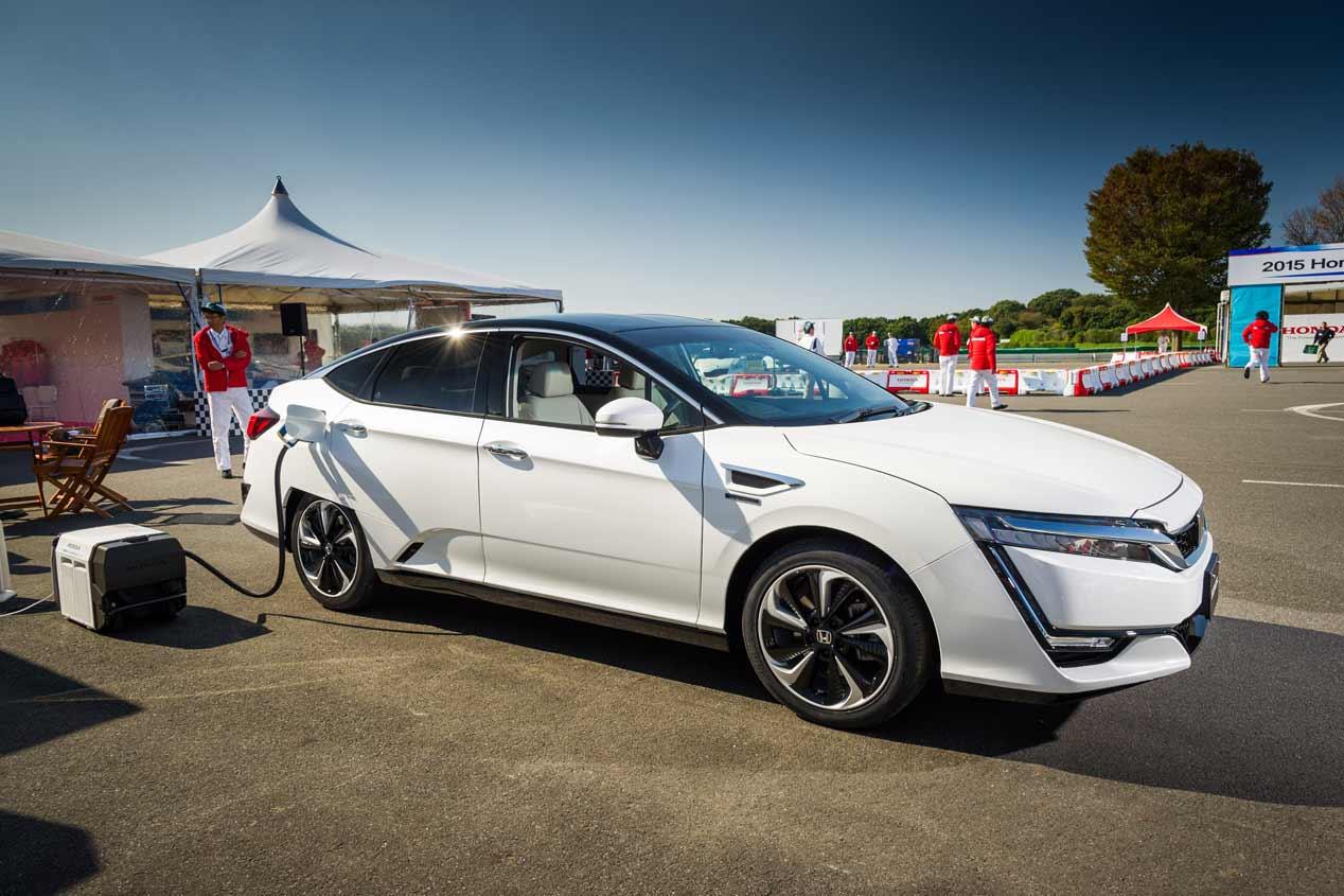 Honda Clarity Fuel Cell, a la venta en 2016