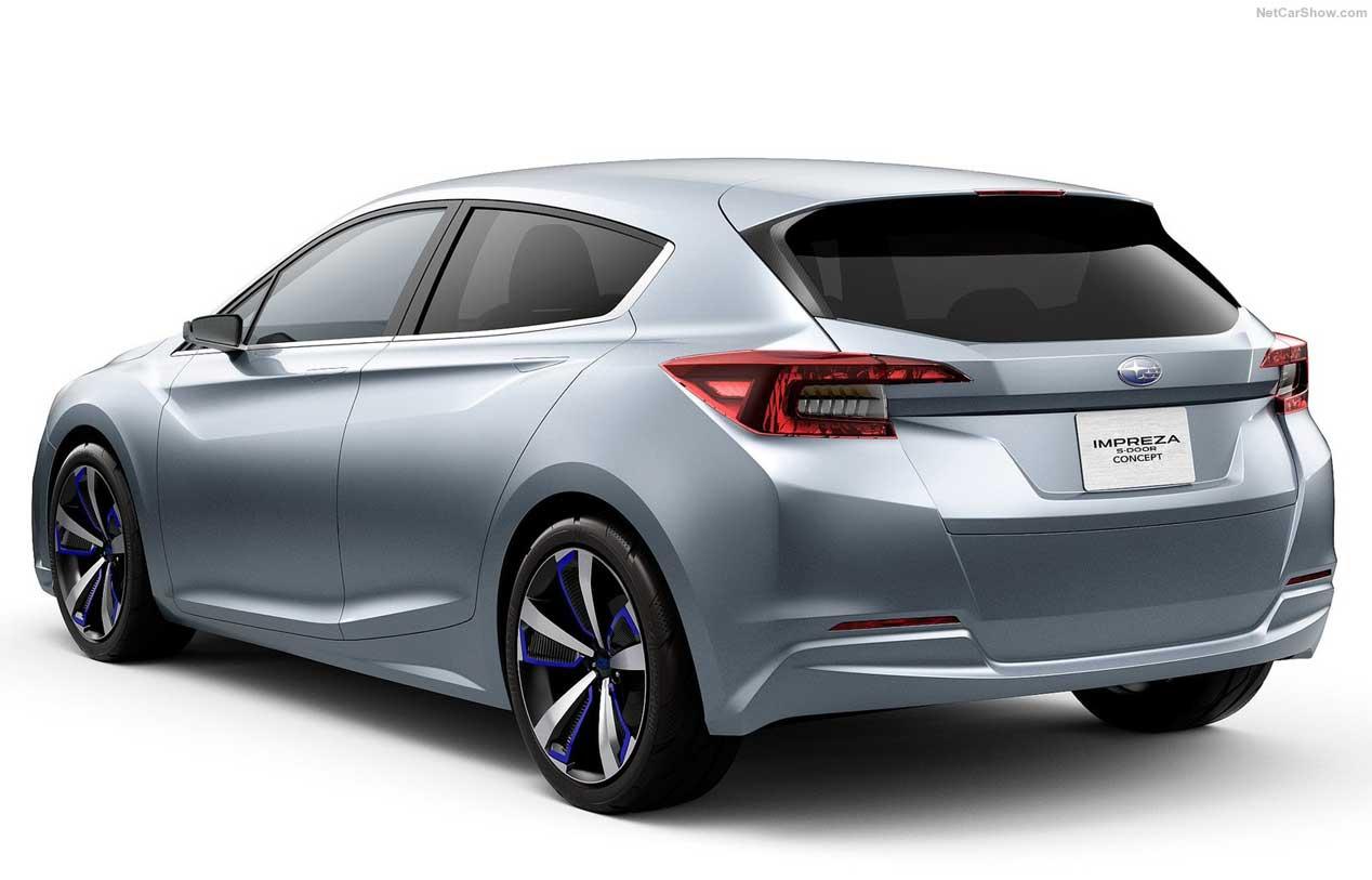 El Subaru Impreza Concept de cinco puertas estará en Tokio
