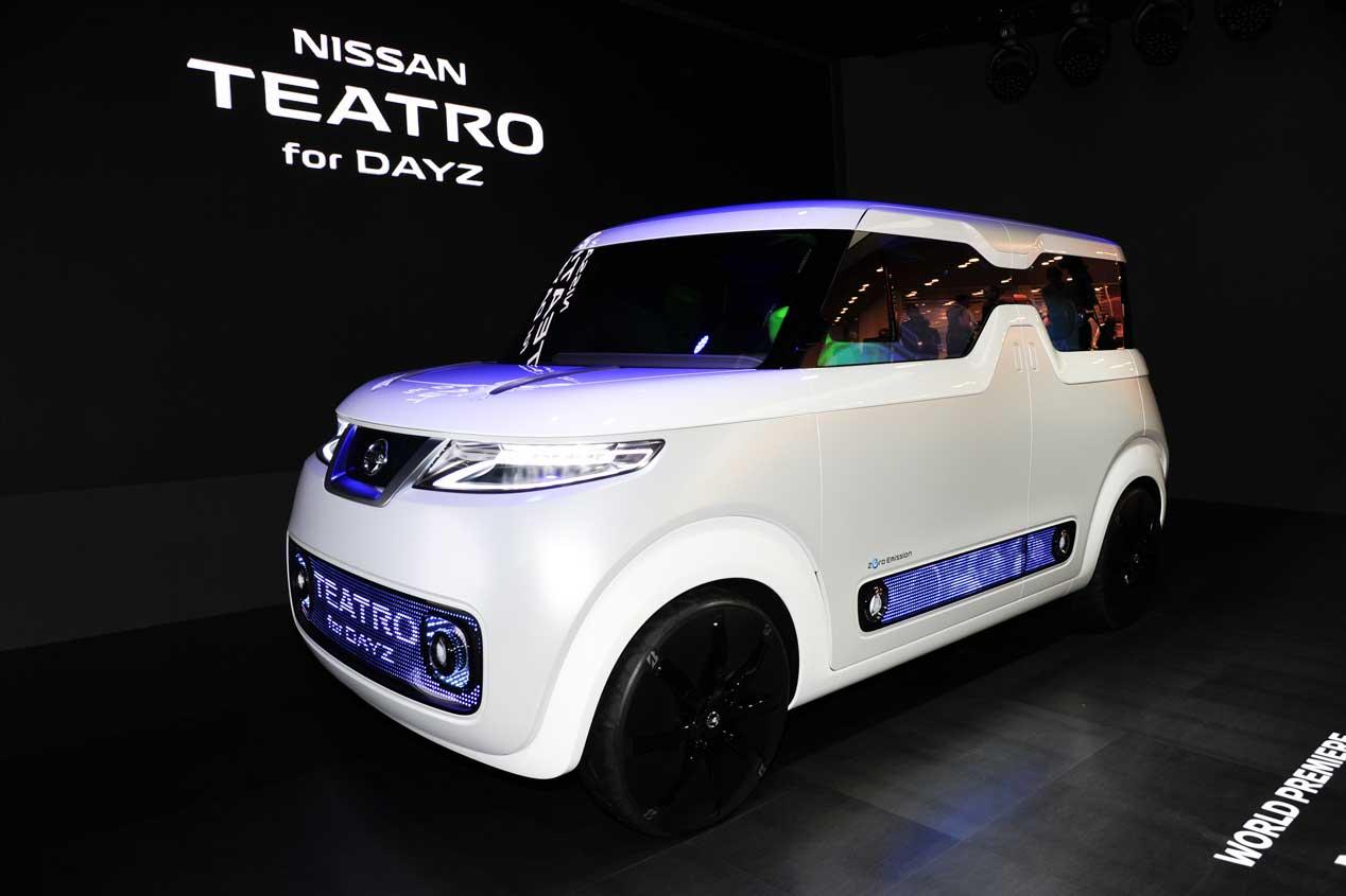Nissan Teatro for Dayz, tecnología y conectividad absolutas