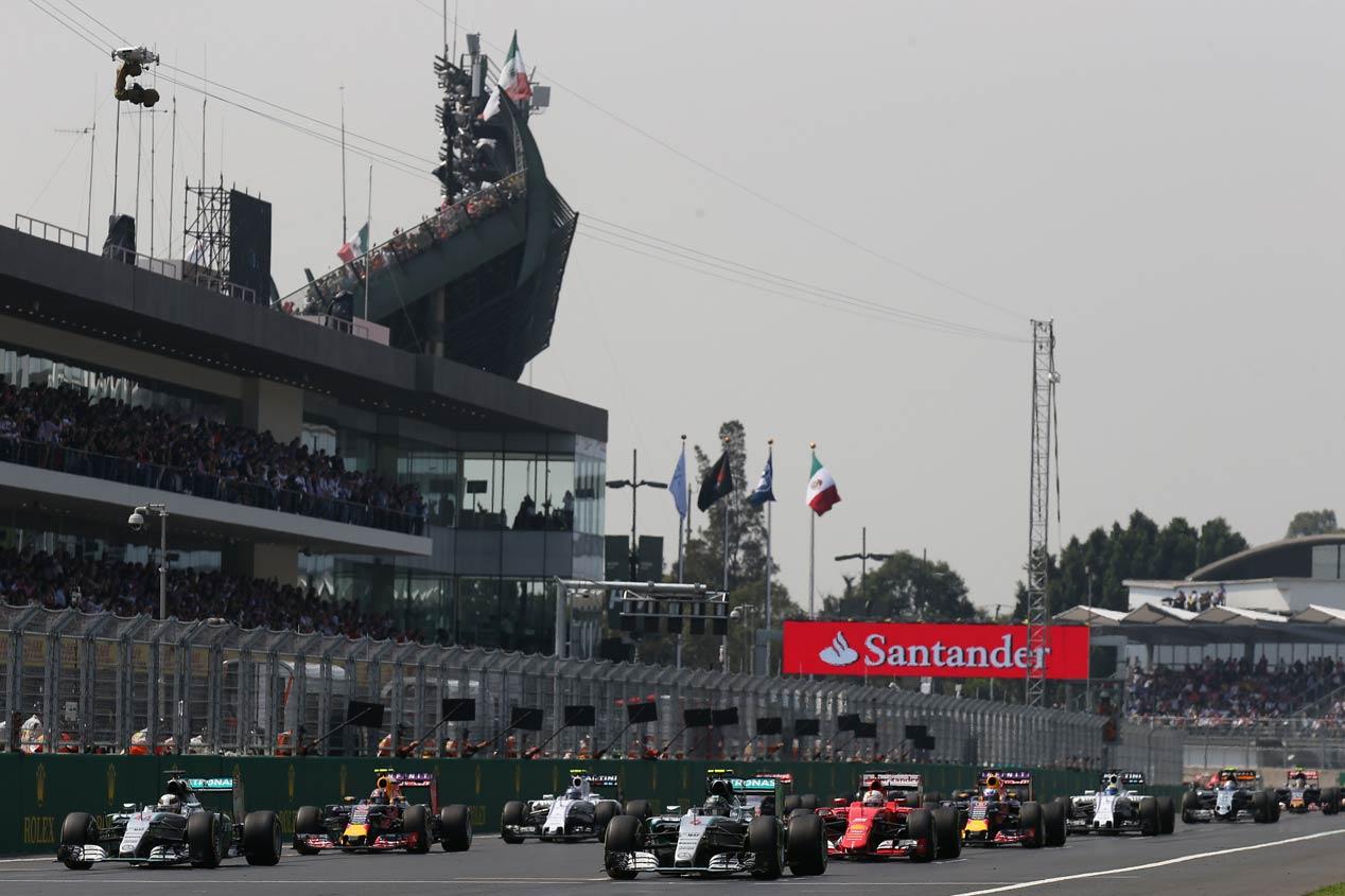 Gran Premio de México 2015: la cuarta de Rosberg