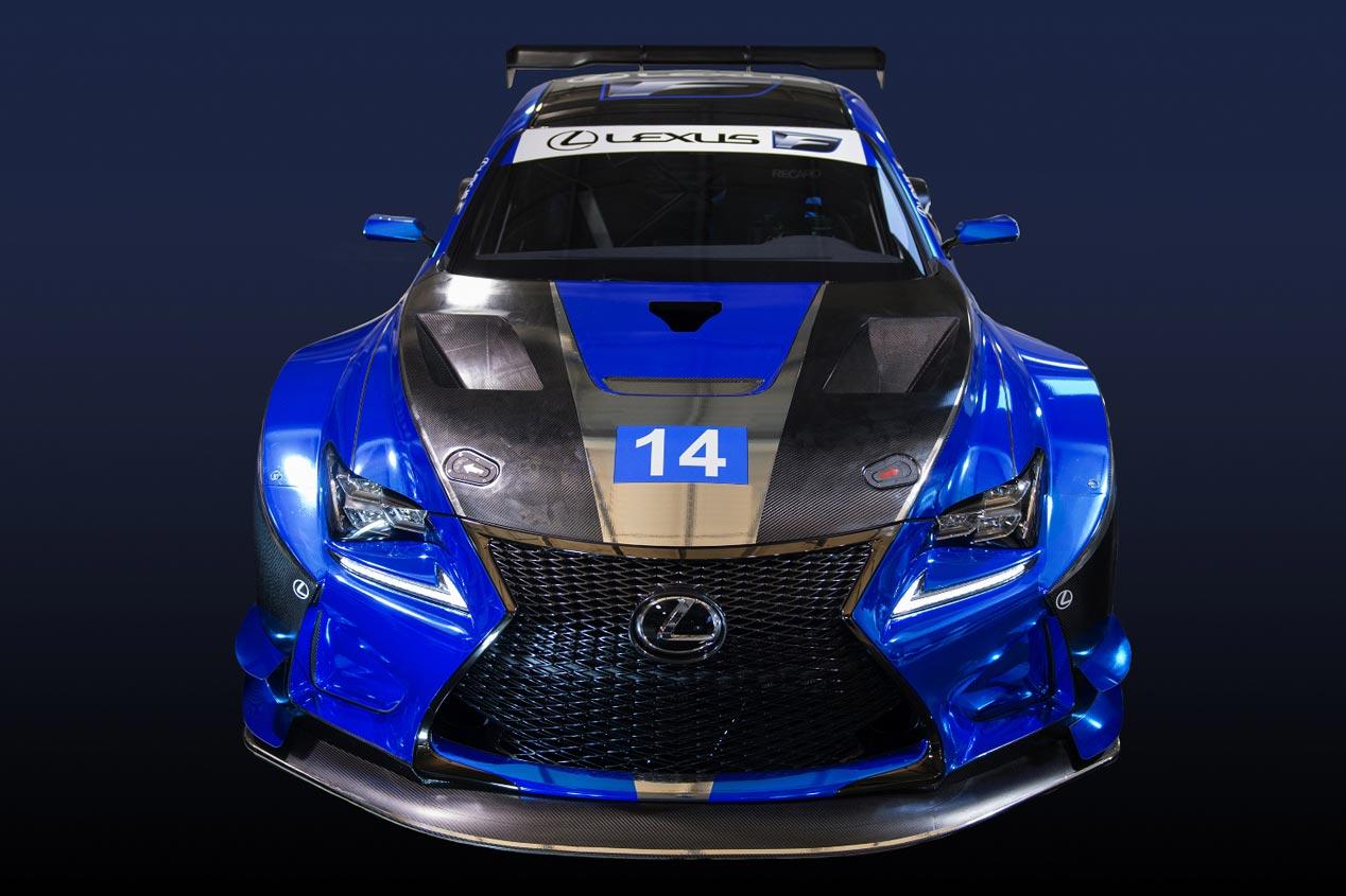 Lexus RC F GT3, preparado para los circuitos