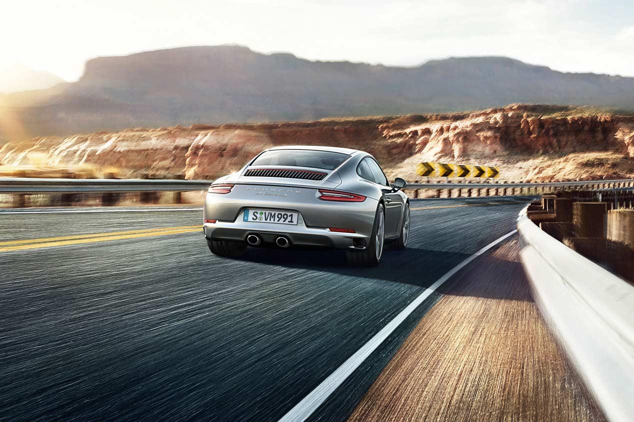 Porsche 911 Carrera S Coupé 2016, las fotos del mito deportivo