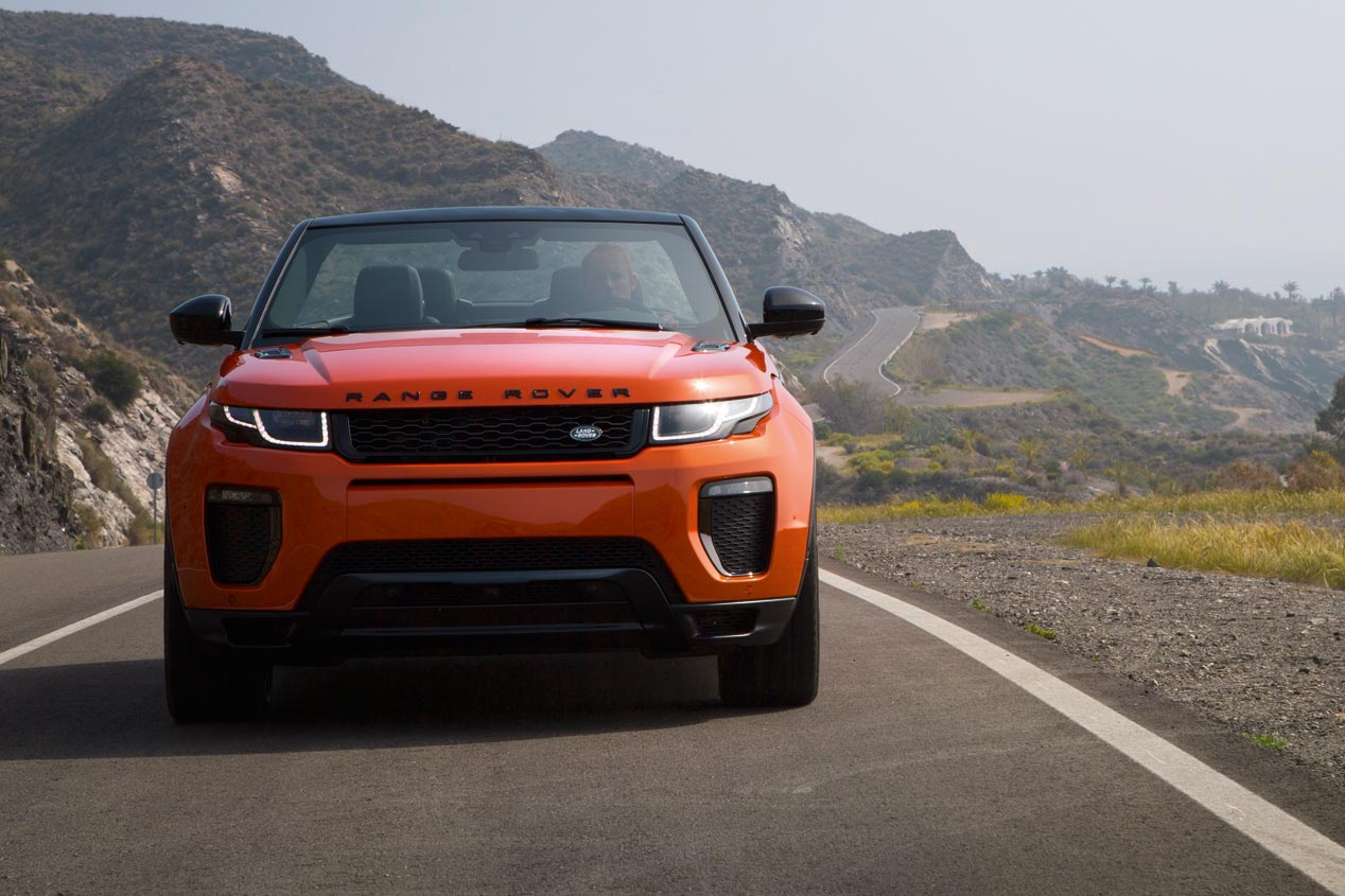 Range Rover Evoque Convertible, el cabrio ya es oficial