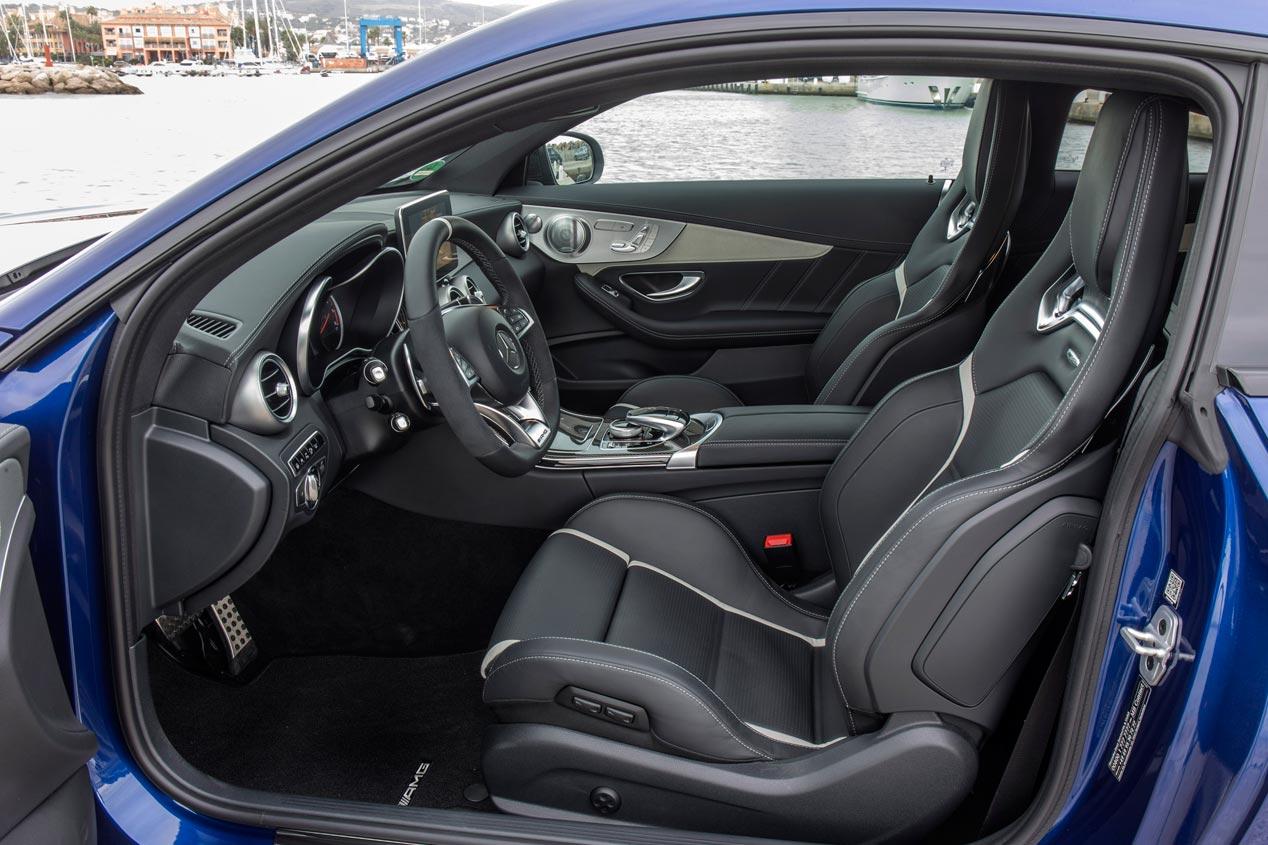 Mercedes Clase C Coupé AMG, 476 CV de diversión