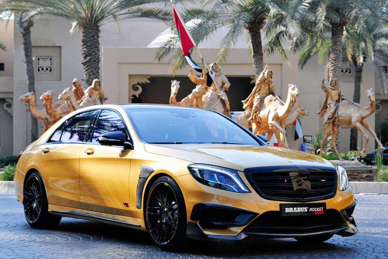 Los 10 coches más 'hot' del Salón de Dubai 2015