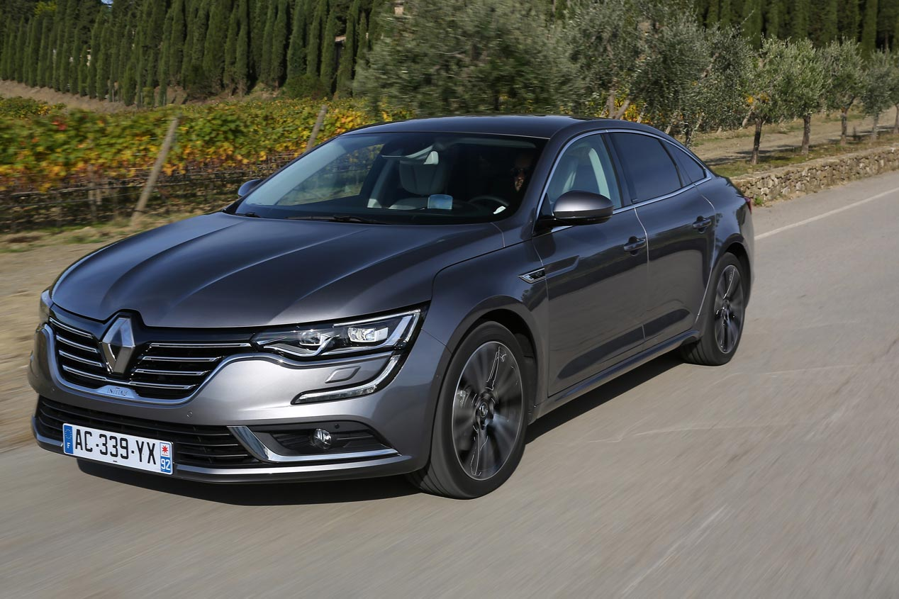 Renault Talisman: comportamiento dinámico