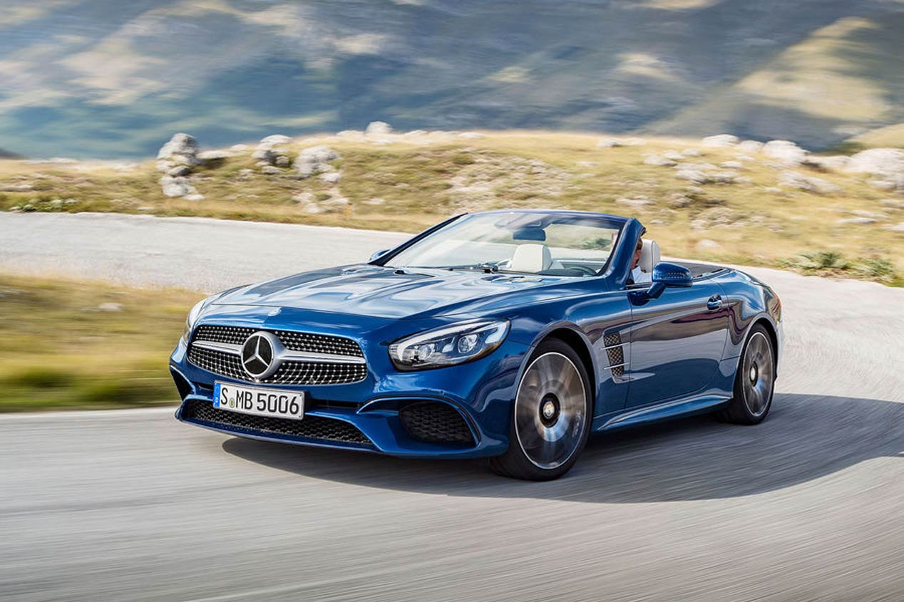Mercedes SL 2016, las mejores fotos