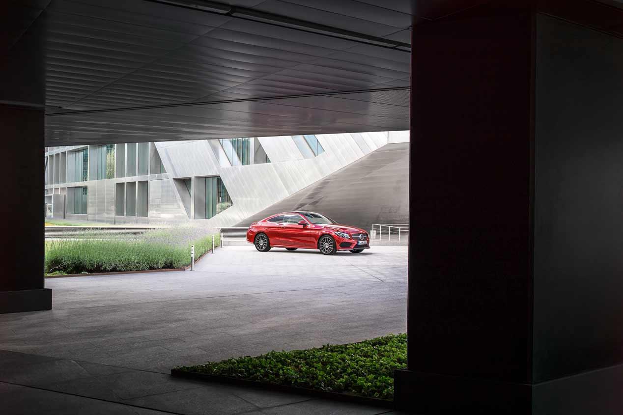 Mercedes C 250d Coupé, sus mejores fotos