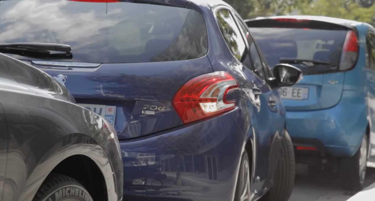 Peugeot Park Assist, aparcar cosa de niños