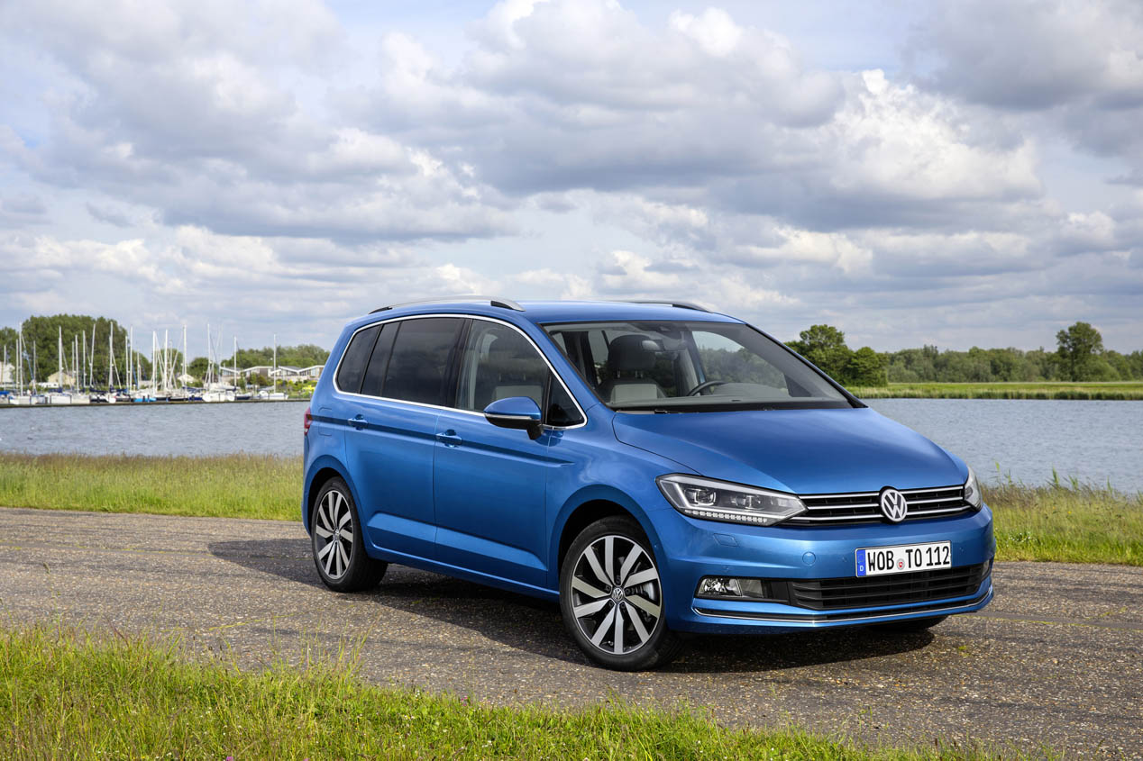 Volkswagen Touran 2016, prueba de la tercera generación