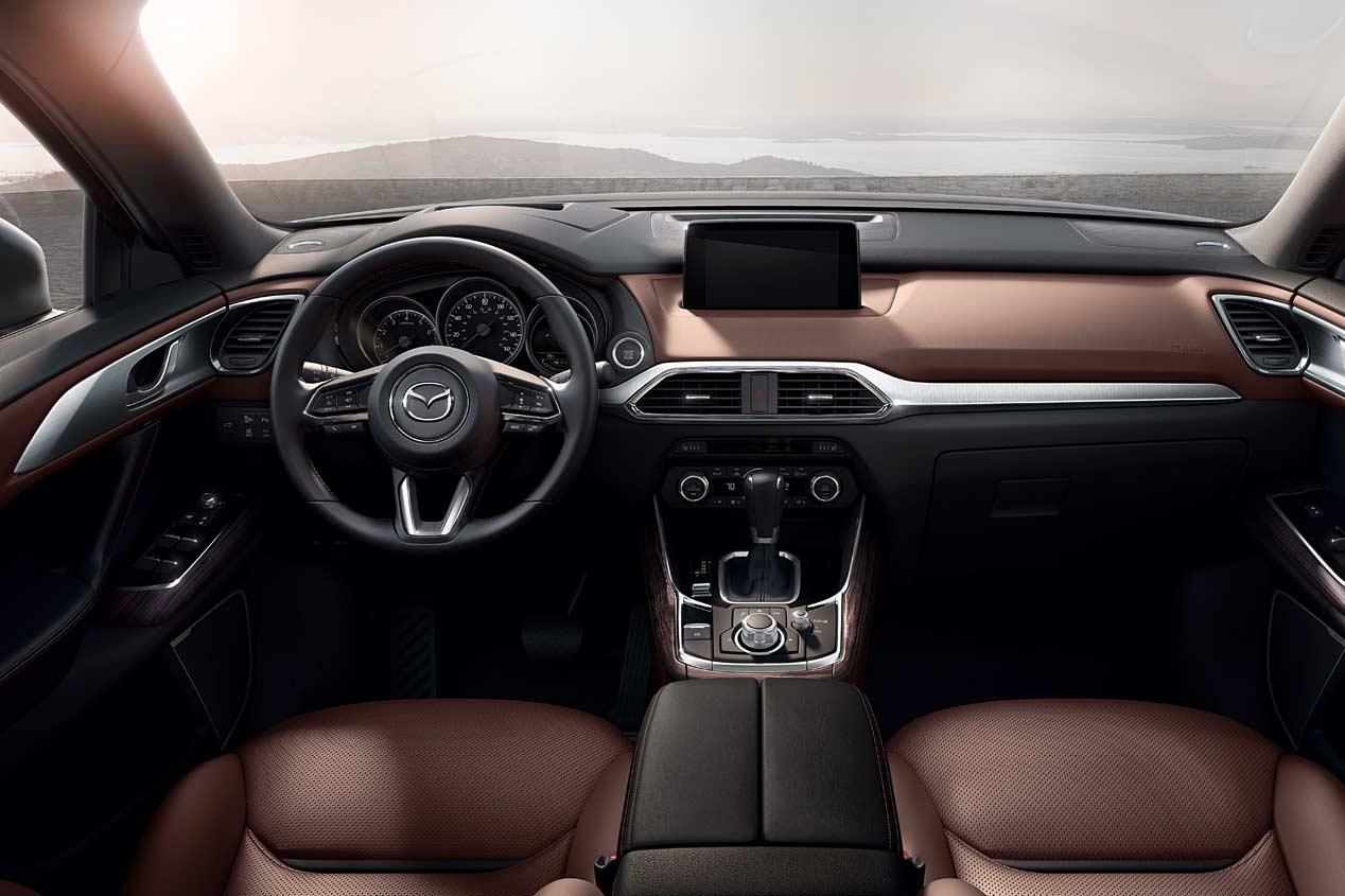 Mazda CX-9, SUV de 7 plazas