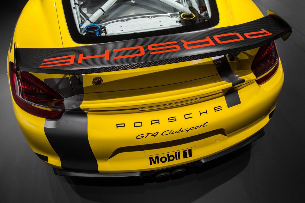 Porsche Cayman GT4 Clubsport, a las carreras