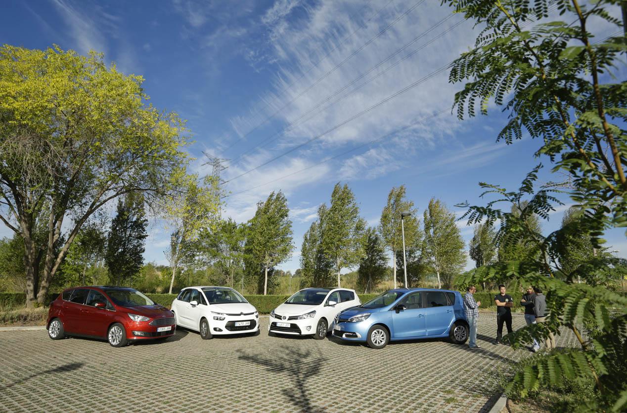 El Citroën C4 Picasso se enfrenta a Ford C-Max, Renault Scénic y Toyota Verso