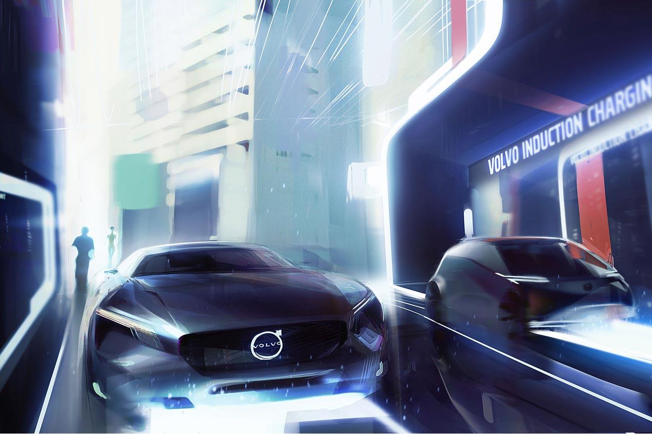 Así serán los híbridos de Volvo