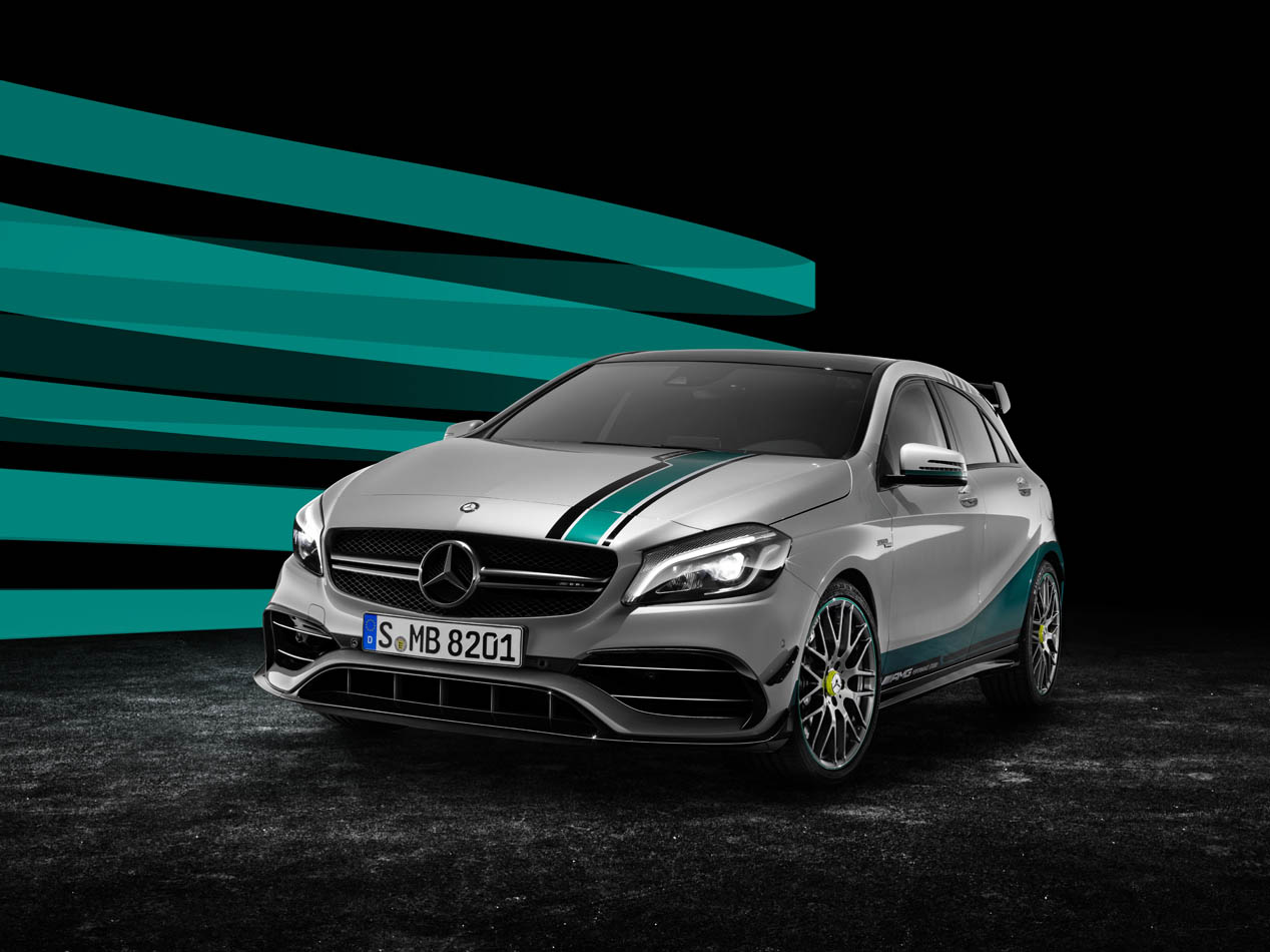 Mercedes A45 AMG World Champion Edition