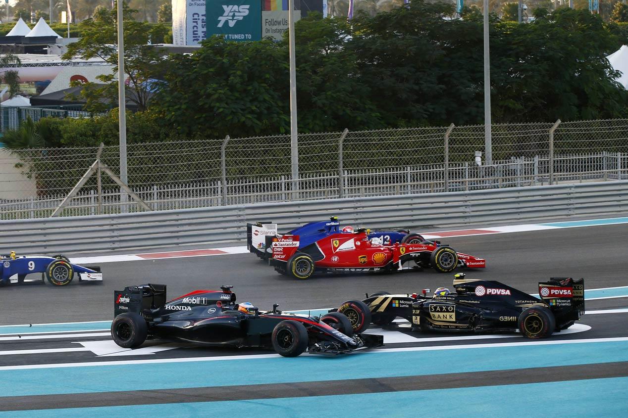 GP Abu Dabi 2015: la carrera