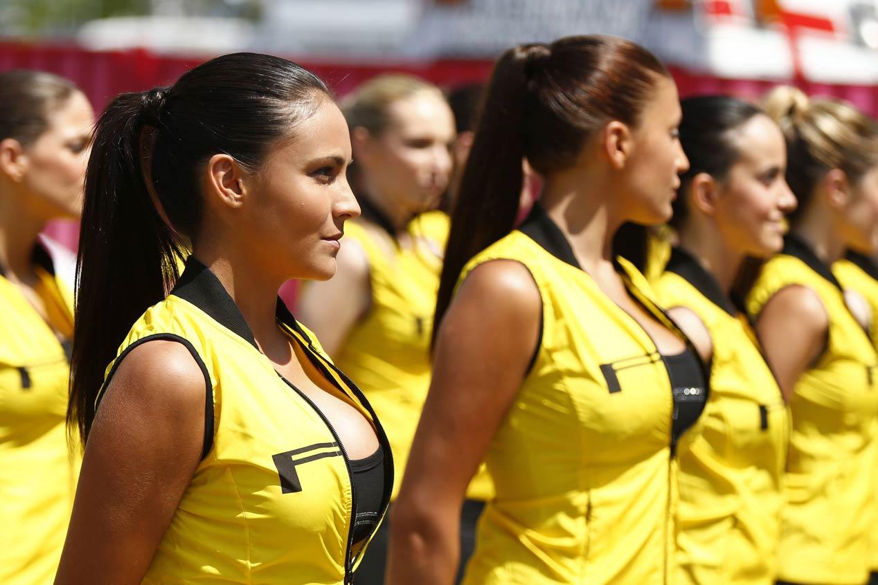 Las chicas más guapas del Mundial 2015 de Fórmula 1