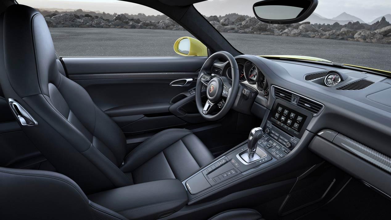 Porsche 911 Turbo y Turbo S 2016, oda a la deportividad