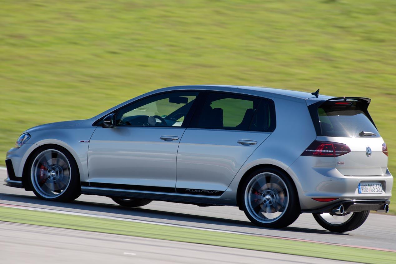 Volkswagen Golf GTI Clubsport, el Golf de tracción delantera más potente