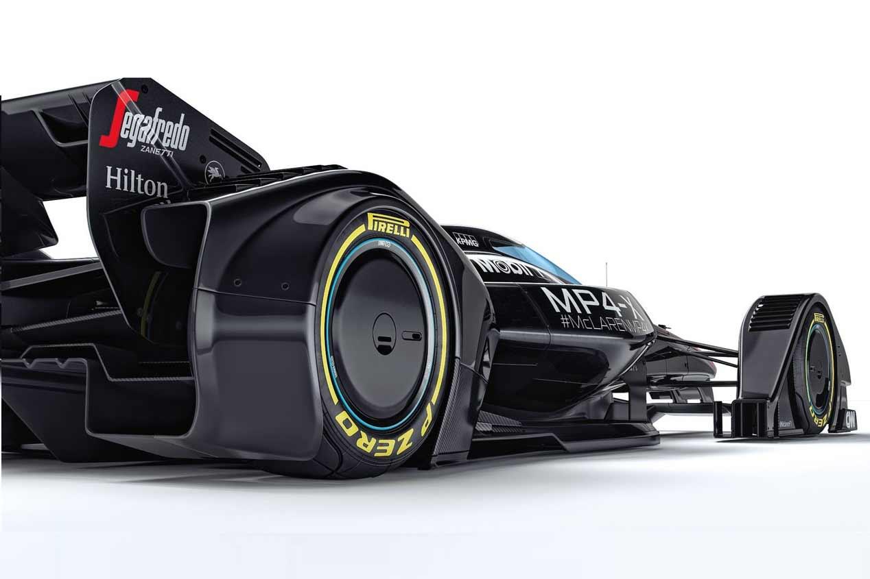 McLaren MP4-X, así serán los Formula 1 del futuro