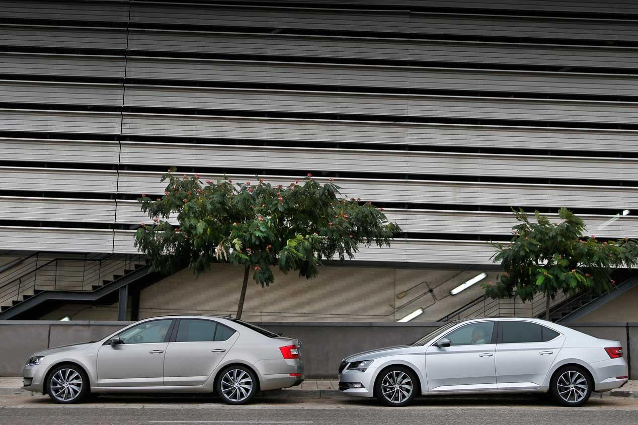 Skoda Superb y Skoda Octavia, dos coches muy prácticos