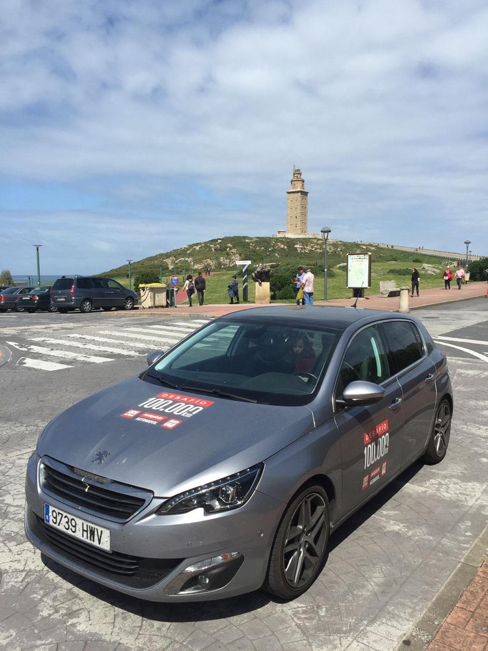 El Peugeot 308 alcanza los 100.000 km