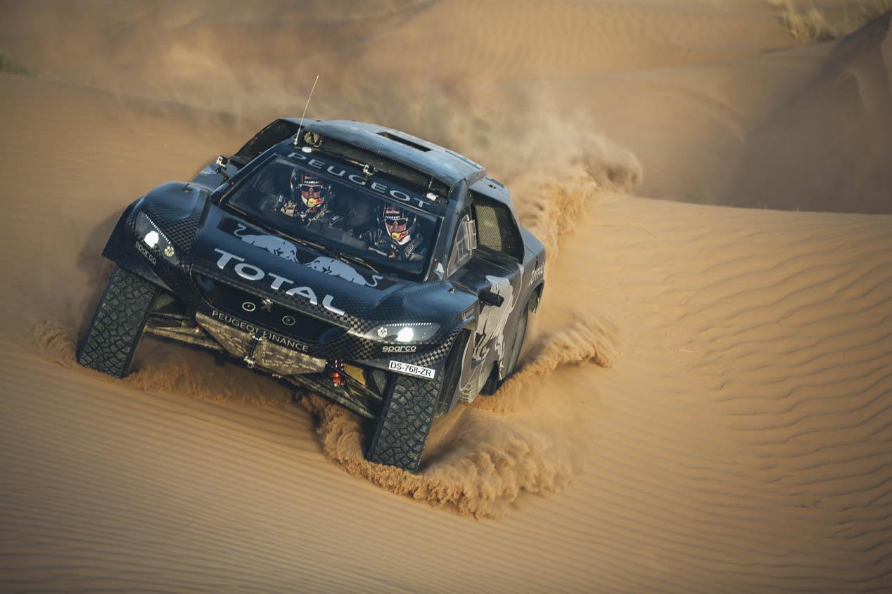 Peugeot 2008 DKR 2016, el coche de Carlos Sainz en el Dakar