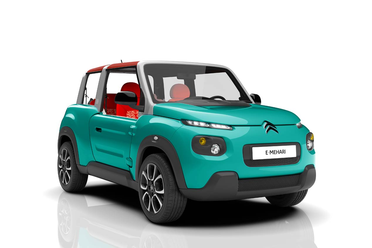 Citroën e-Mehari, espíritu Mehari en un SUV eléctrico