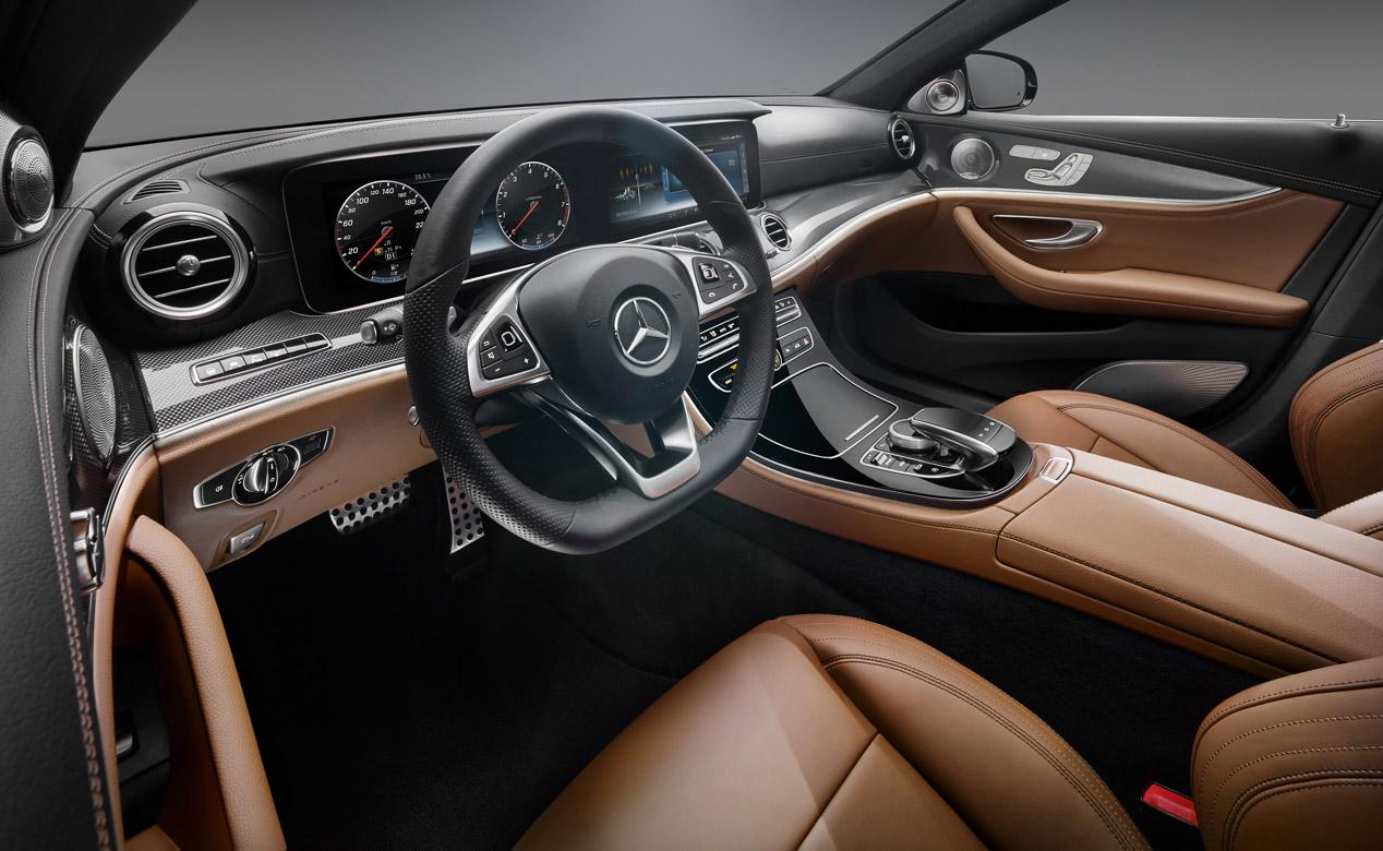 La nueva generación del Mercedes Clase E por dentro