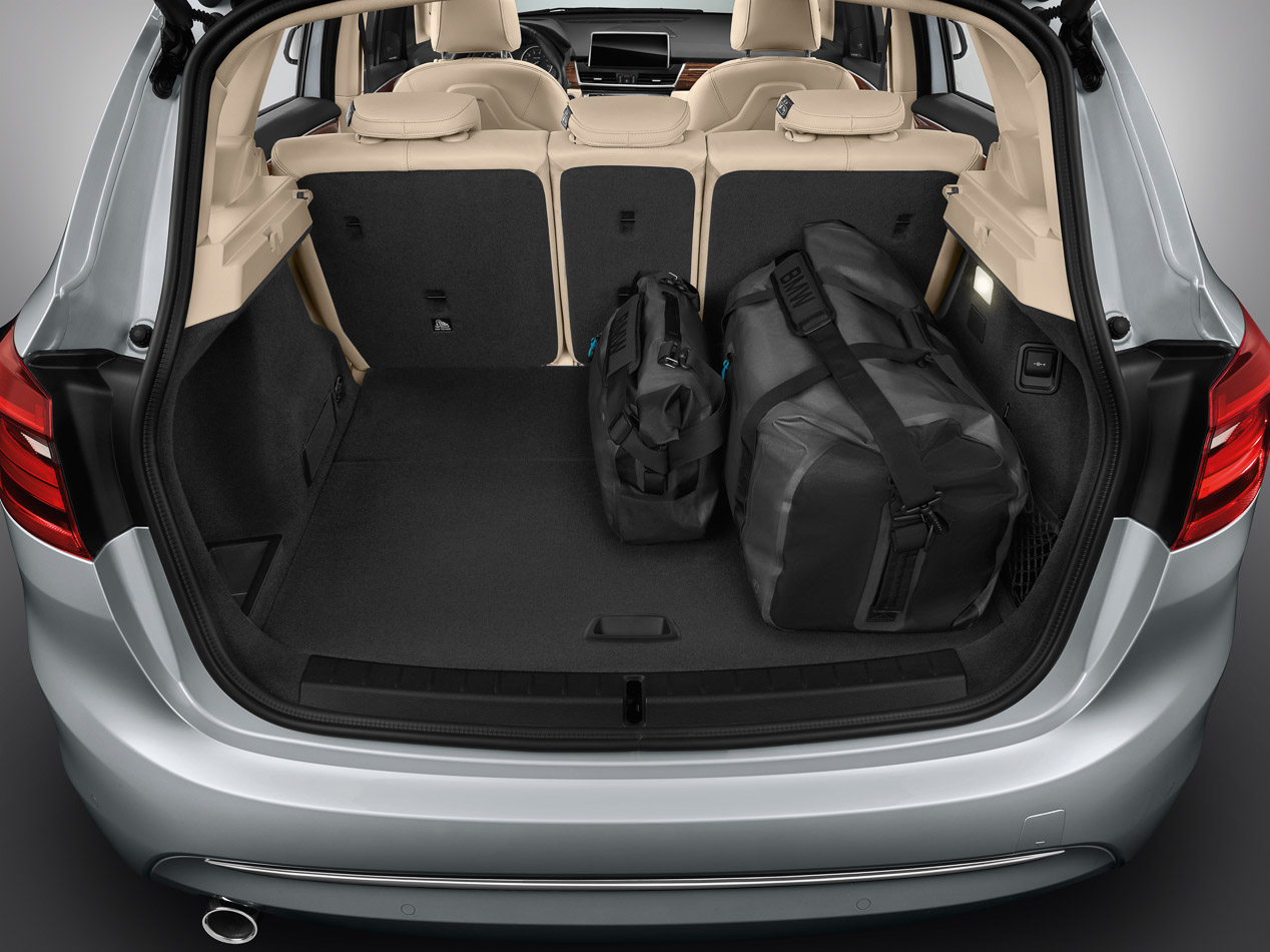 BMW 225xe, máxima eficiencia monovolumen