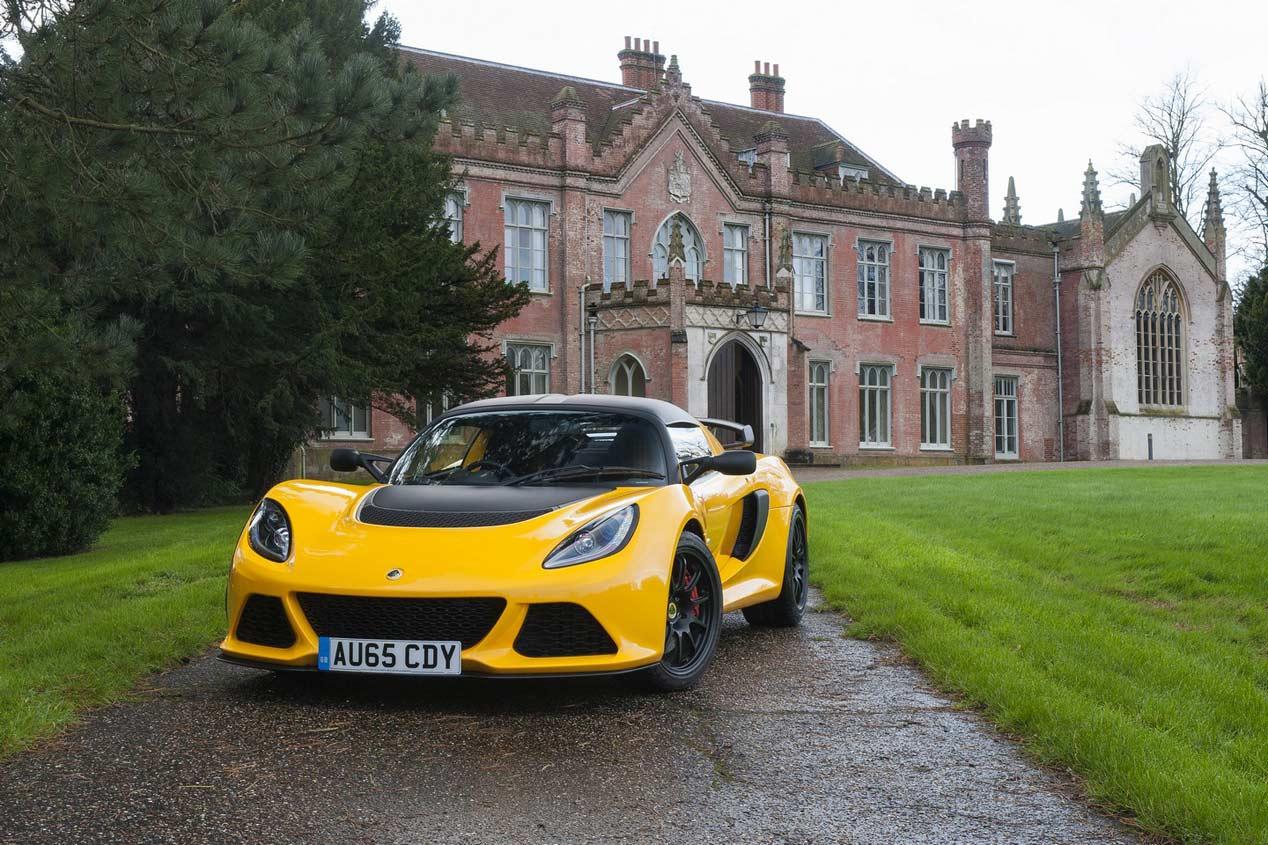Lotus Exige Sport 350, otro peso pluma