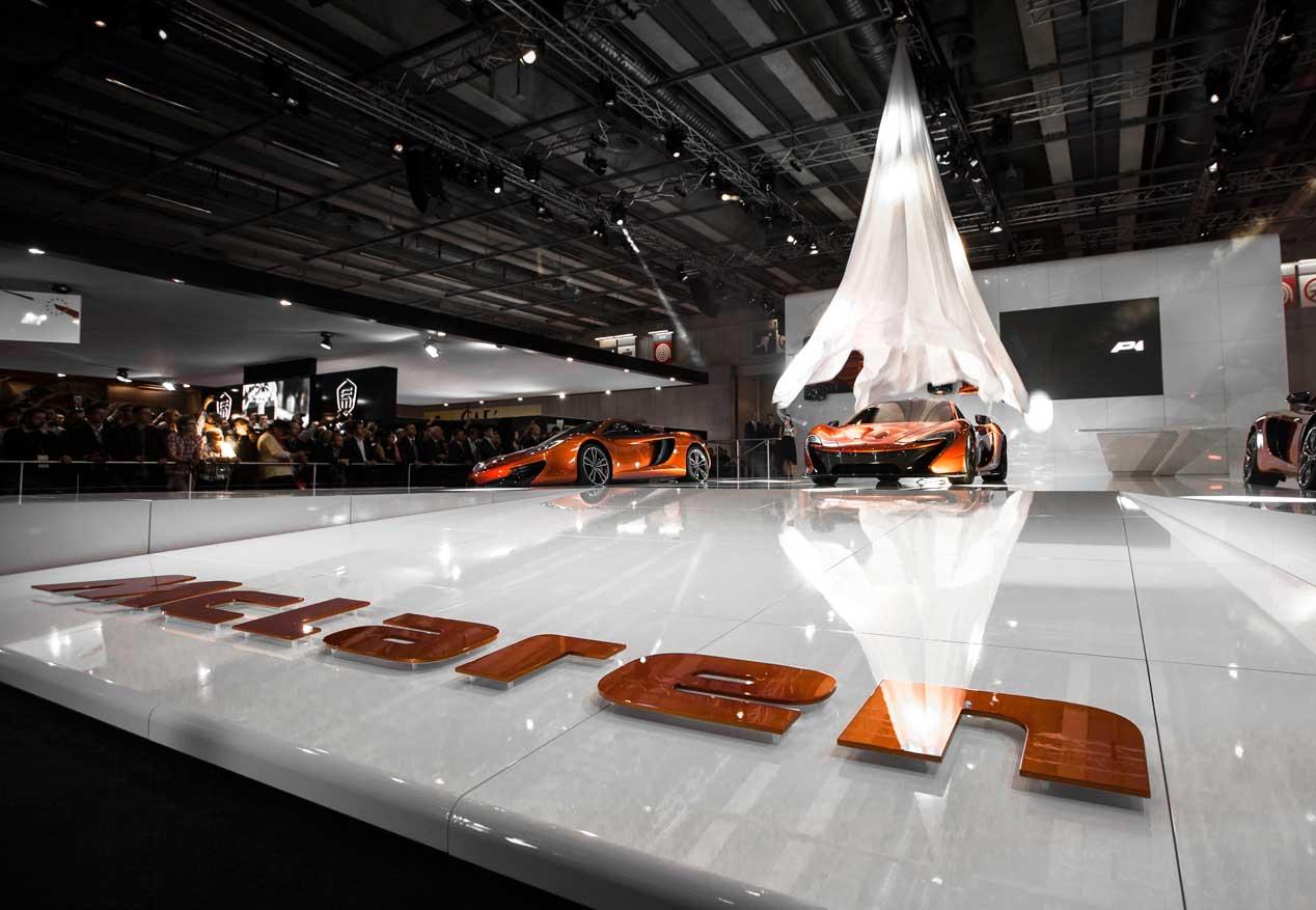 McLaren P1, las fotos del súper coche hibrido