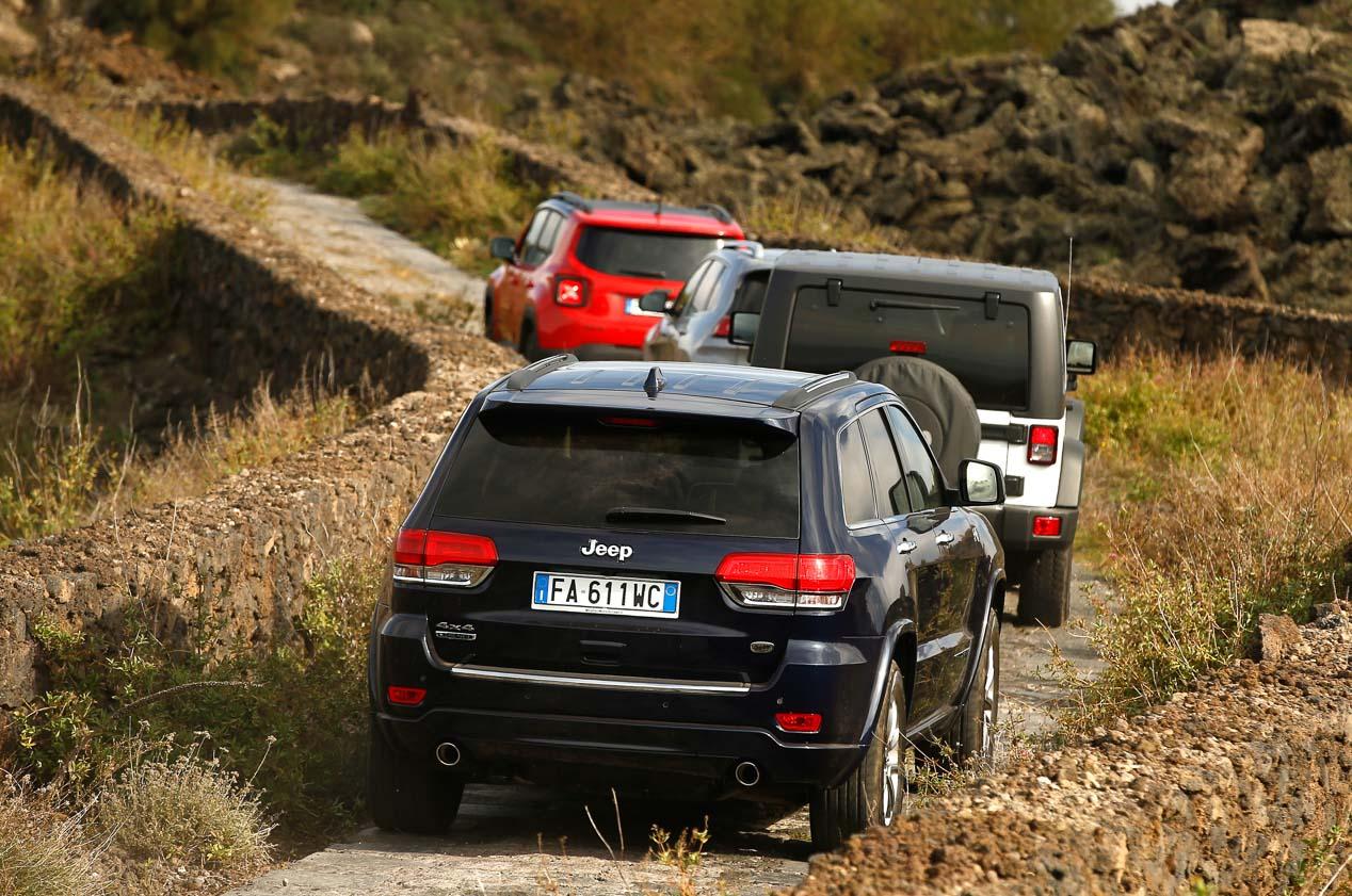 Jeep Wrangler y Renegade personalizados