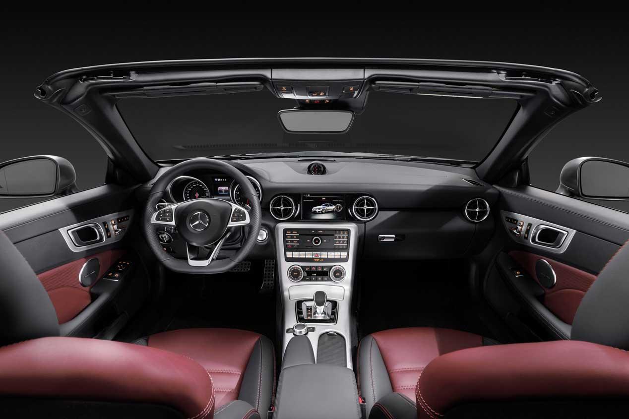 Mercedes SLC 2016, nuevo cabrio para el Salón de Detroit