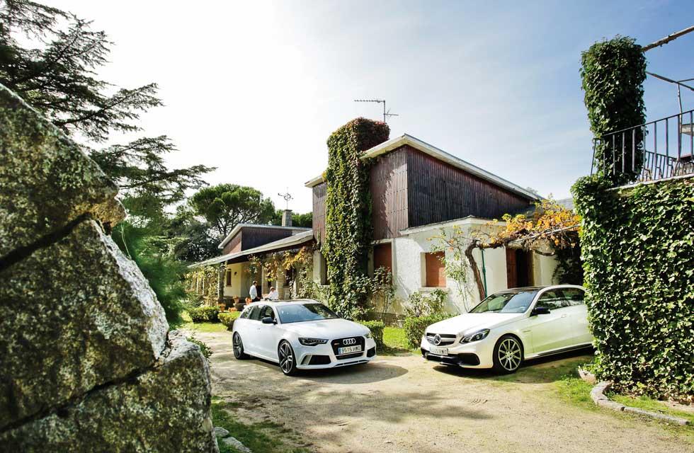 Audi RS6 Avant, Mercedes E63 AMG 4Matic