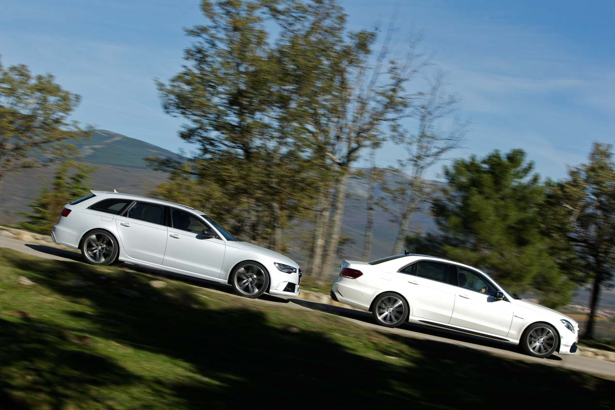 Audi RS6 Avant vs Mercedes E63 AMG 4Matic