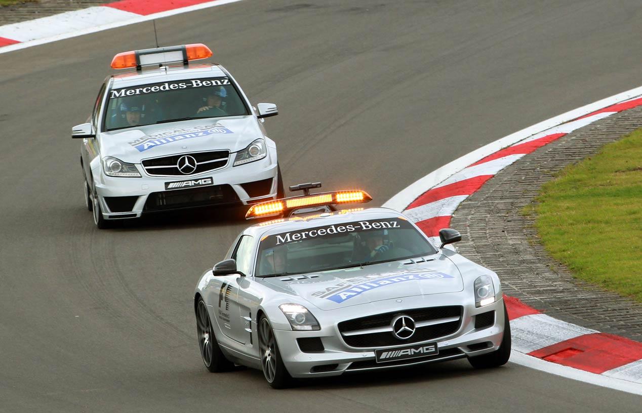 Mercedes y sus Safety Car, 20 años en los circuitos