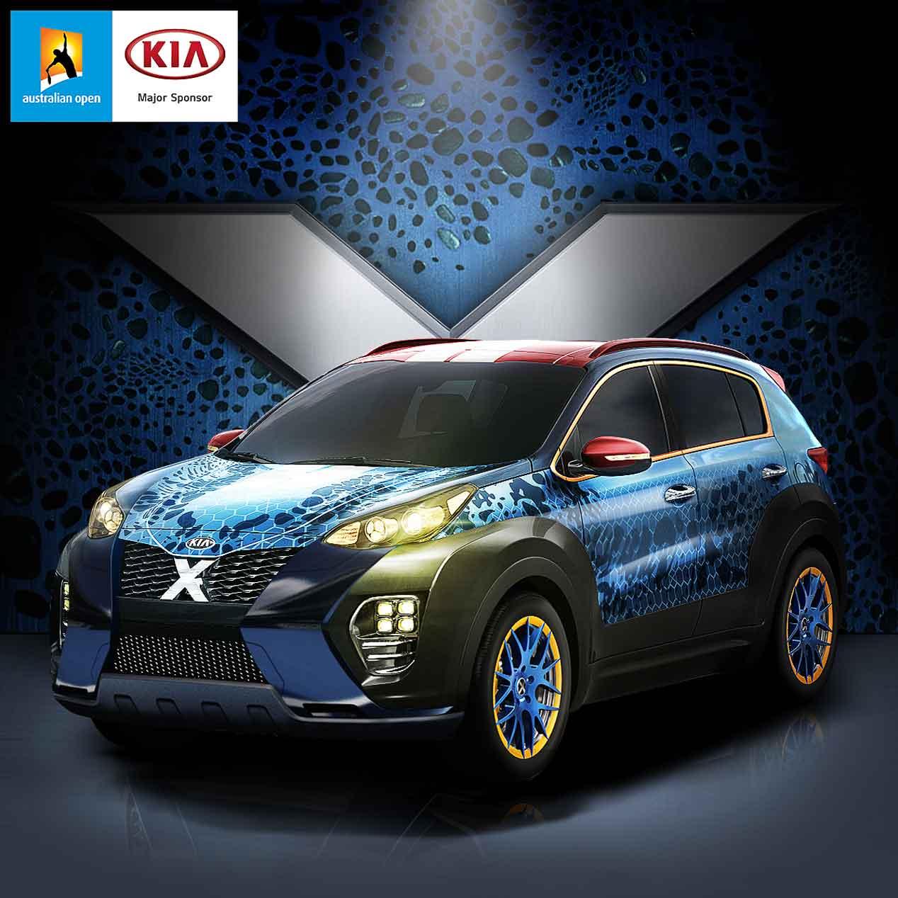 Kia Sportage Mística de X-Men