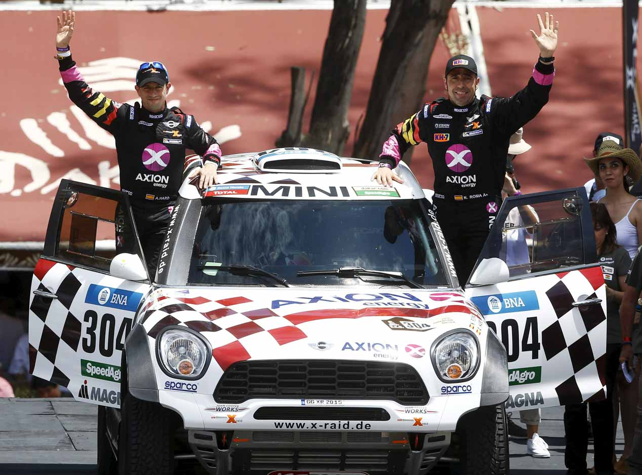 Las mejores imágenes del Dakar 2016: prólogo y primera etapa.