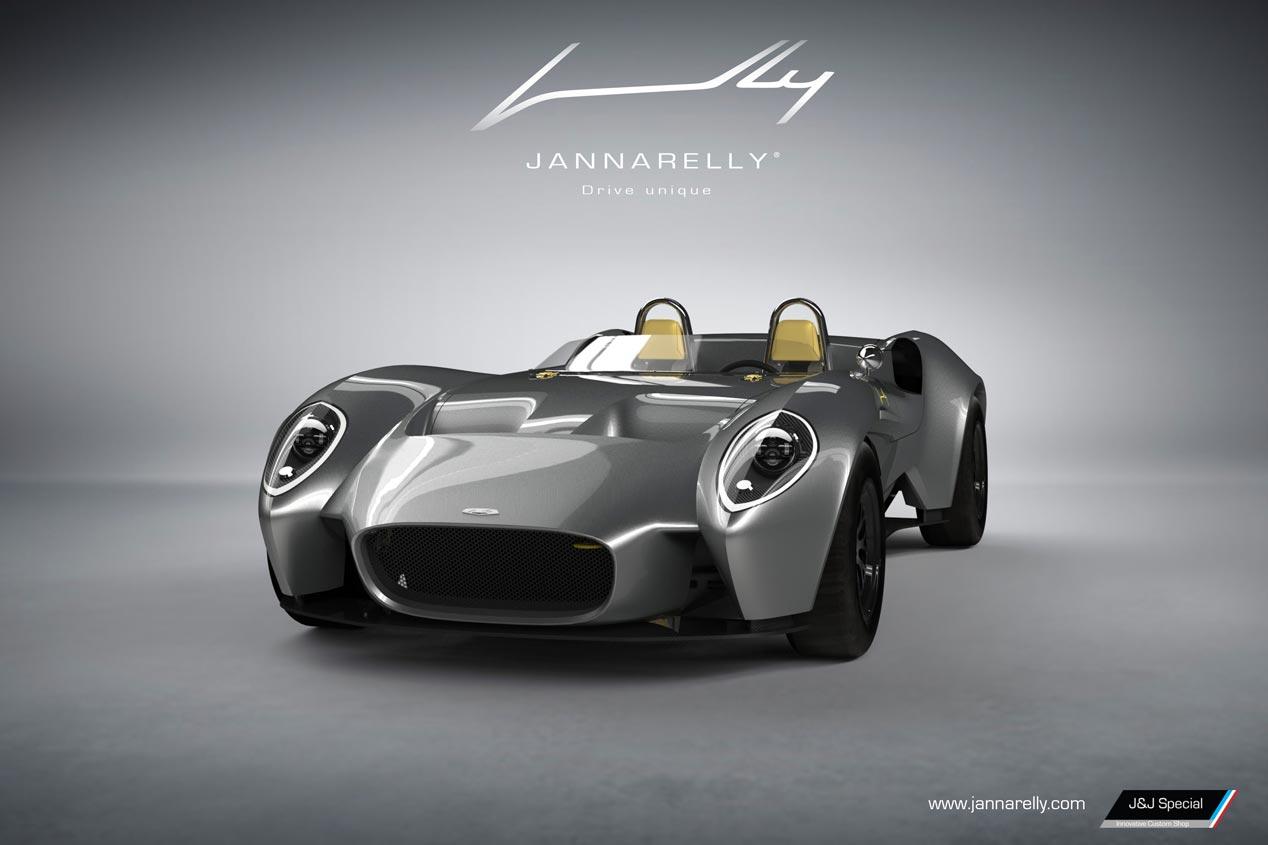 Jannarelly Design-1, el nuevo súper coche descapotable