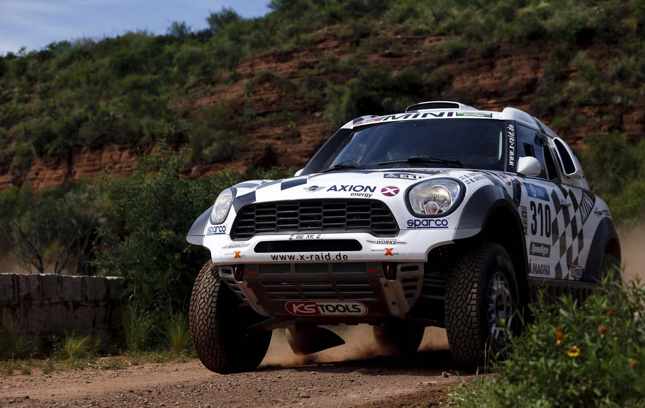 Las mejores imágenes del Dakar 2016: segunda etapa.