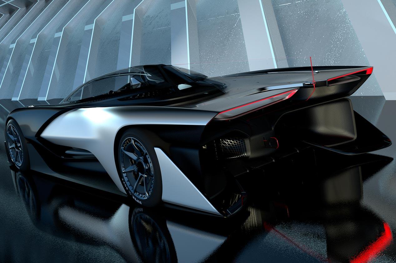 Faraday Future FFZERO1: un concepto eléctrico de 1.000 CV