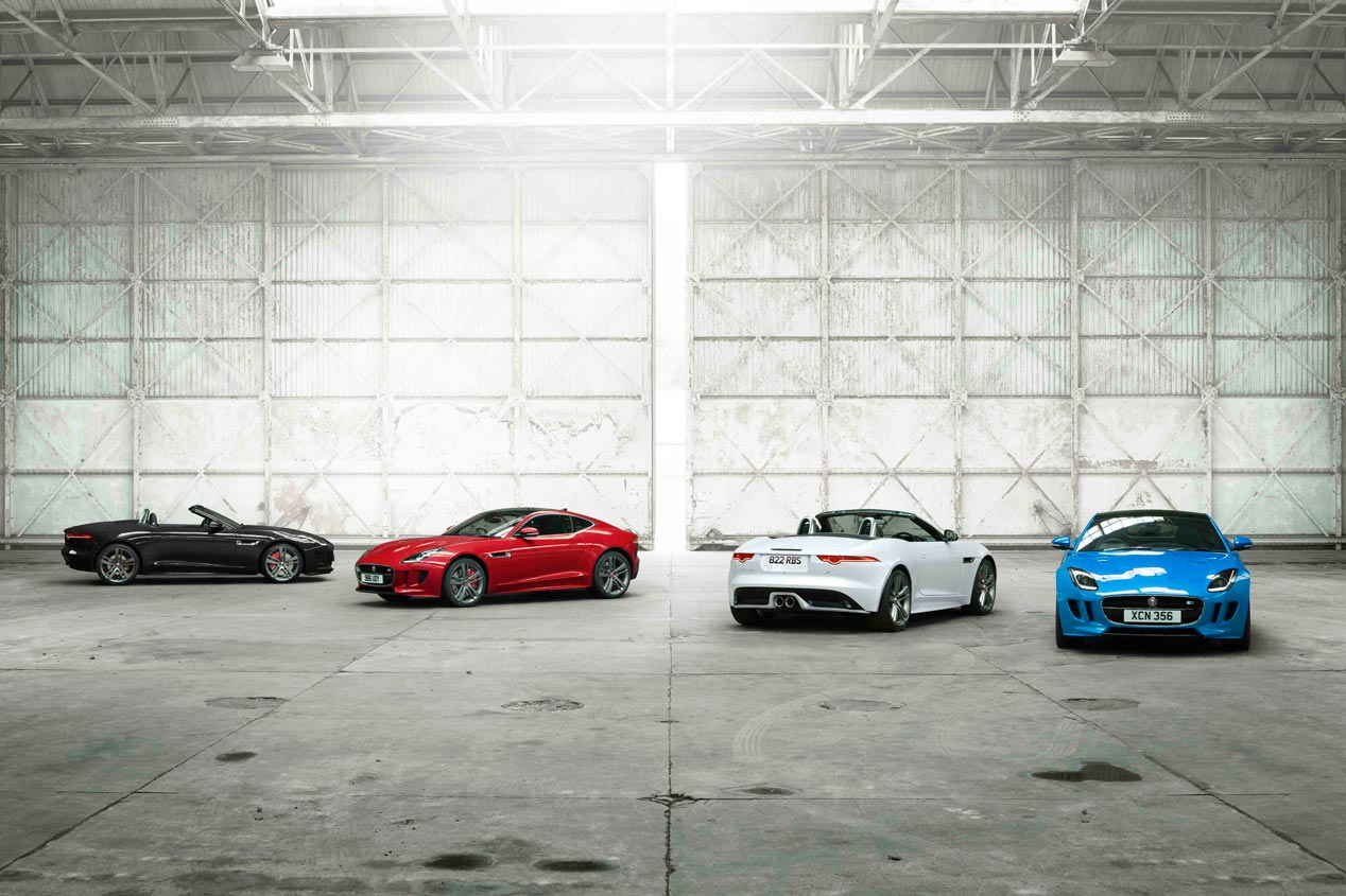 Jaguar F-Type British Edition, sus fotos