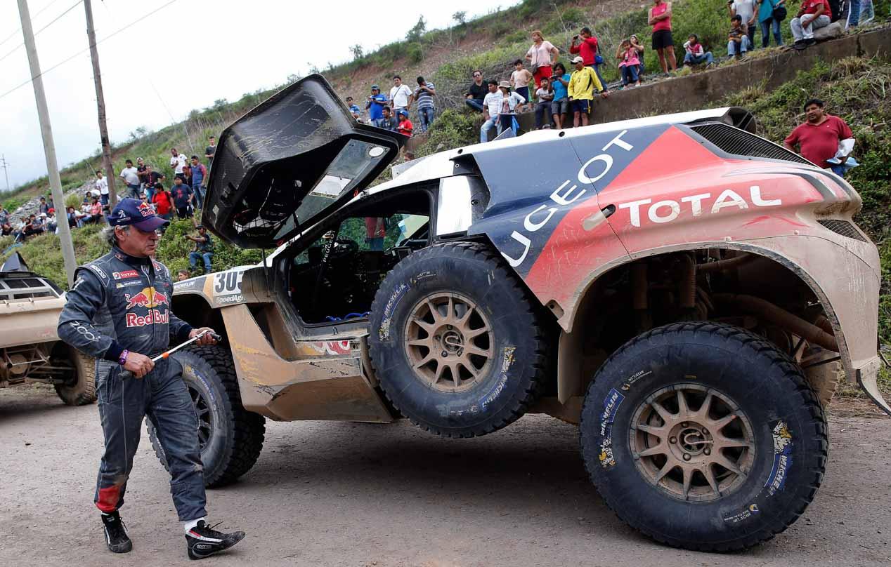 Las mejores imágenes del Dakar 2016: cuarta etapa.
