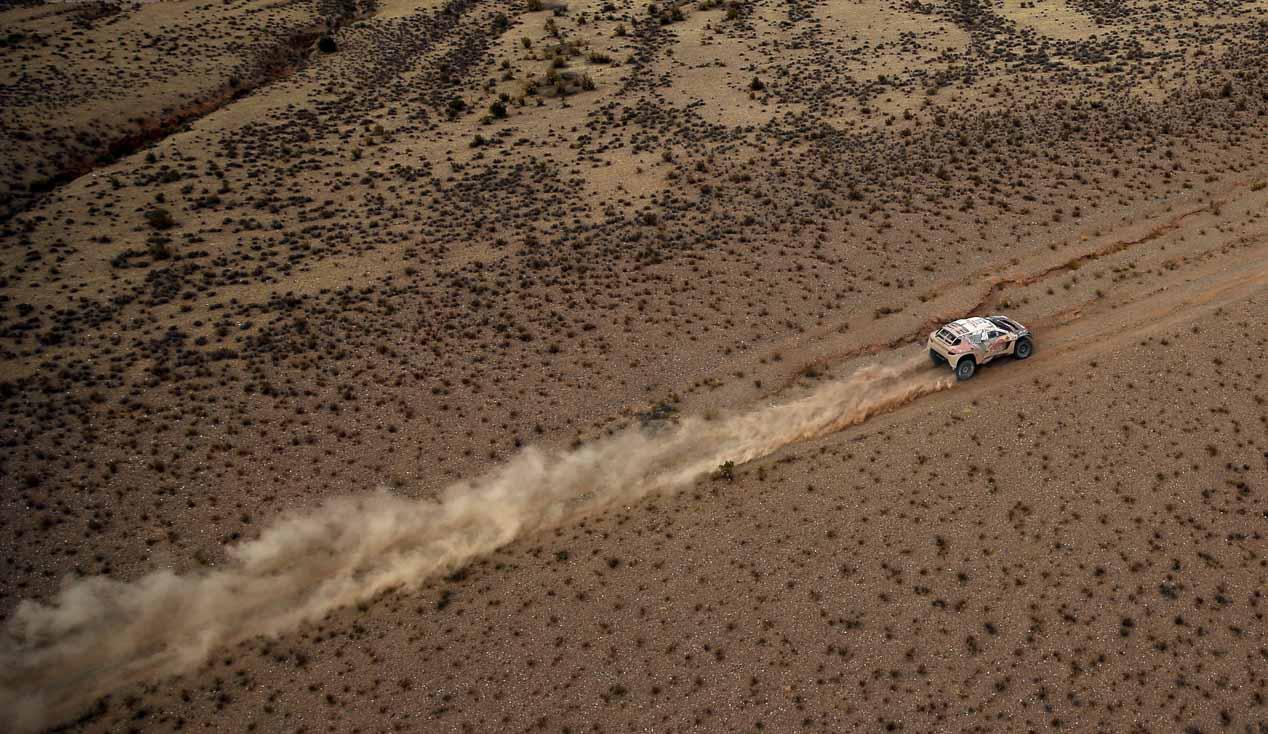 Las mejores imágenes del Dakar 2016: quinta etapa