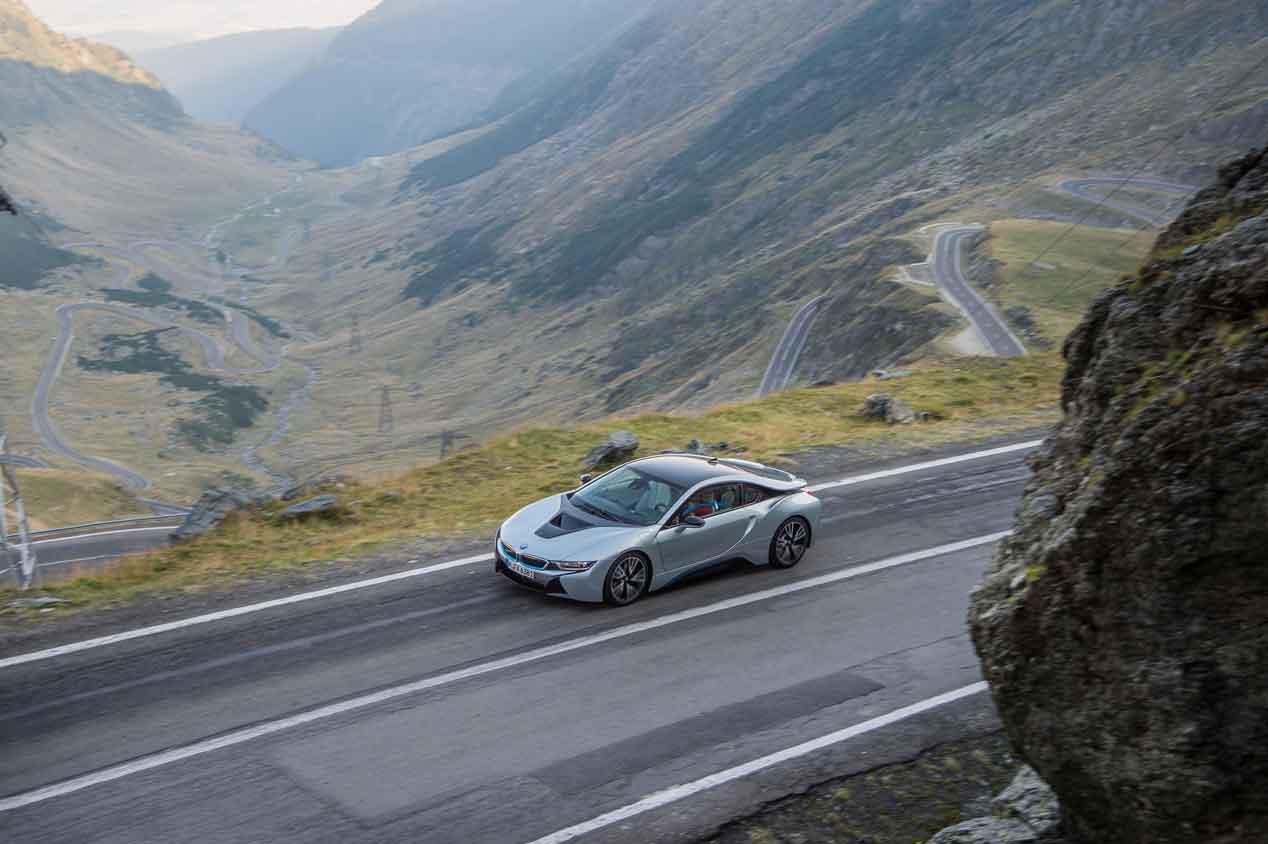 BMW i8, prueba y viaje por Rumanía. Sus fotos