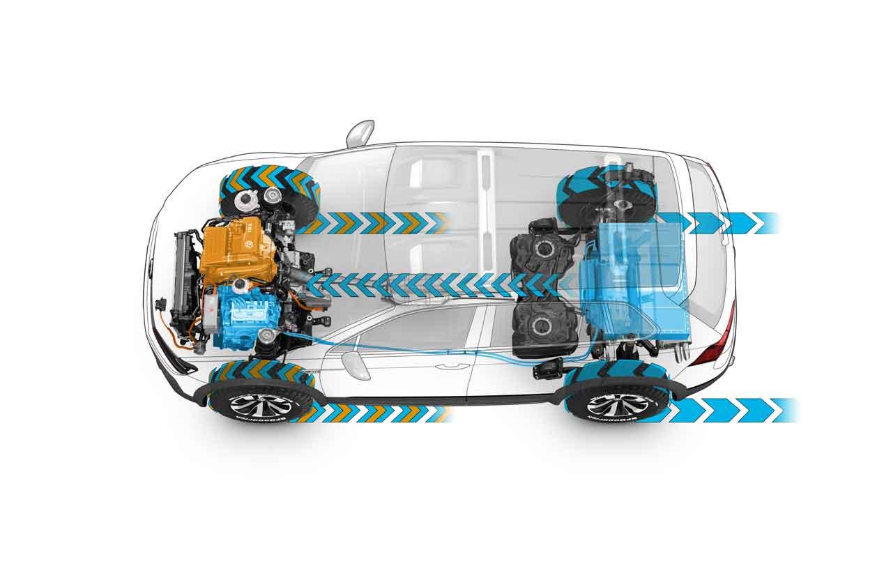 Las fotos del Volkswagen Tiguan GTE Active Concept