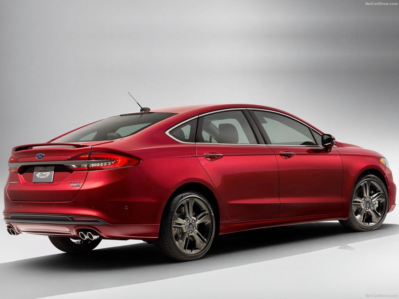 El Ford Mondeo 2017, presentado en versión deportiva V6 ...