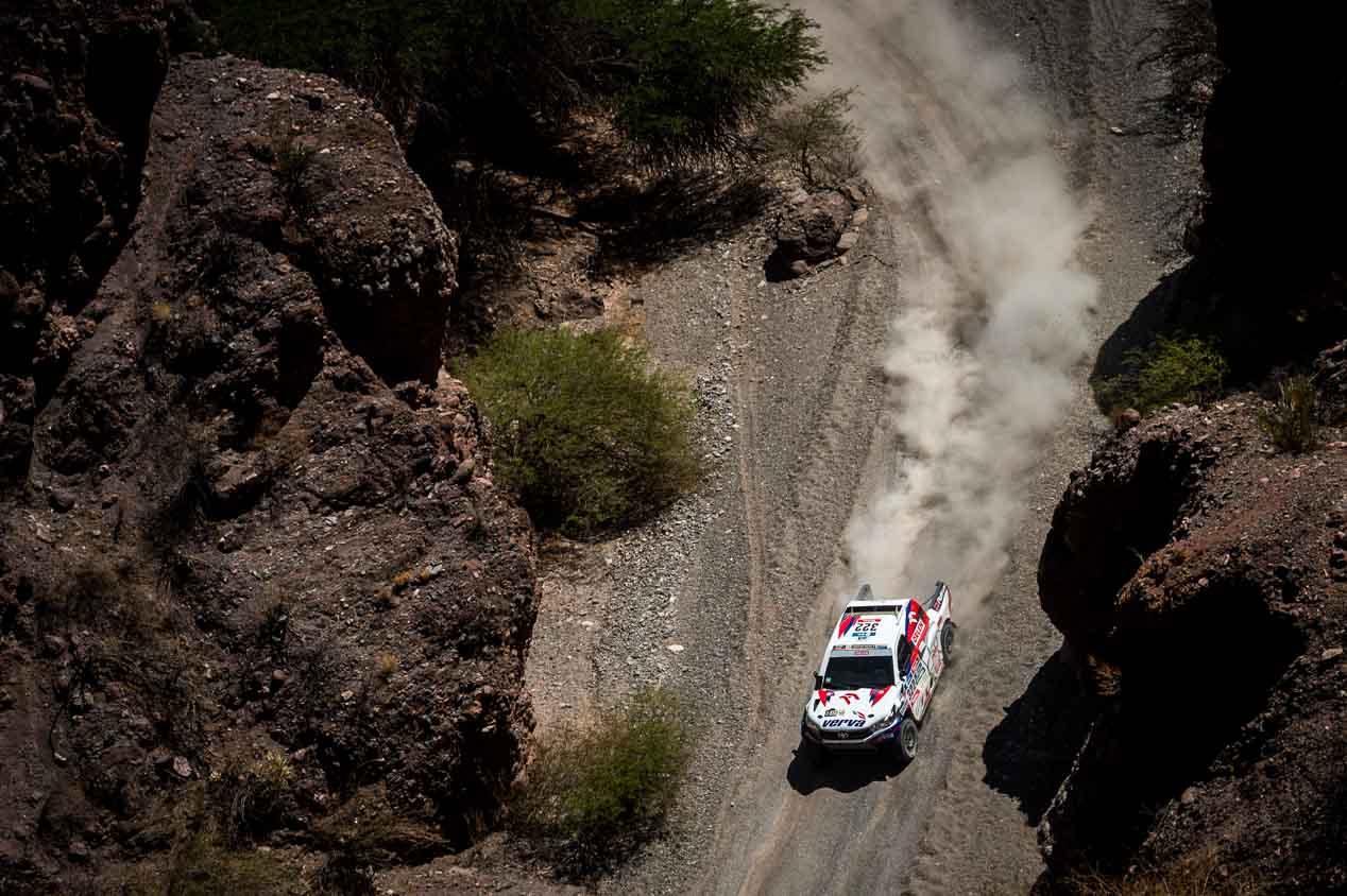Las mejores imágenes del Dakar 2016: octava etapa